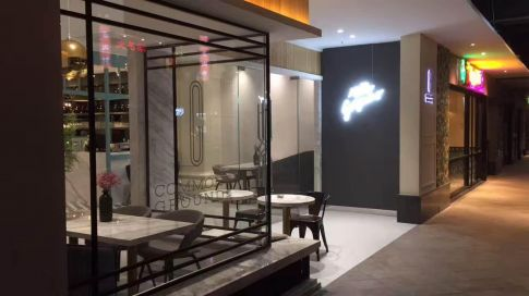 海口茶餐厅创意混搭风装修效果图