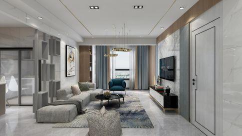 重庆现代混搭风格三居装修设计,生活需要仪式感