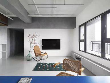 泉州工业风三居装修案例展示,莫名我就喜欢你