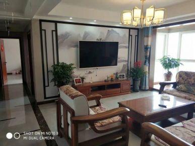 中式风格三居室设计效果图