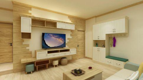 广州现代简约三居装修,一家人其乐融融的生活空间