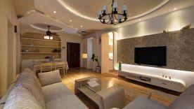 福州地中海风格三居装修,打造生活的诗意栖息地!