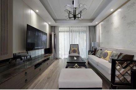 宜昌中式风格三居装修效果图,生活如此多娇