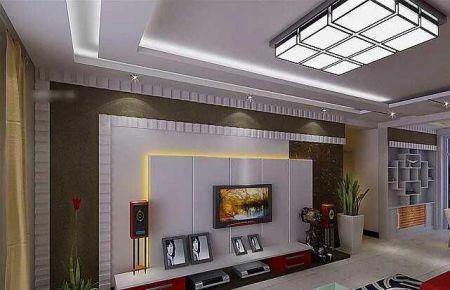 六安惠民家园现代简约风三居室装修效果图展示