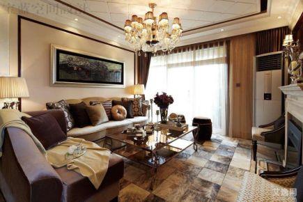 武汉汉阳欧式两房装修效果图案例展示