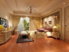 武汉东湖创意混搭风格大三房装修效果图