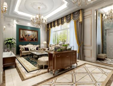 欧式风格别墅设计效果图