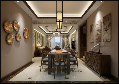 新中式风格三居室套房设计