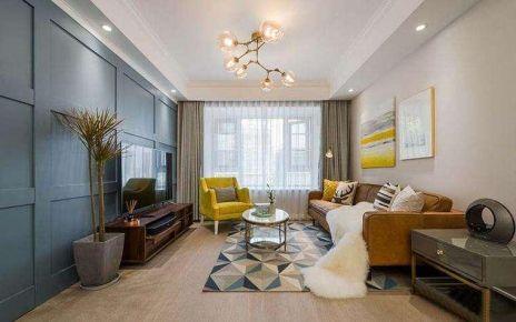 杭州创一居惠都家园混搭风格三居装修效果图