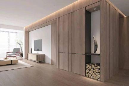 南通现代三居室装修,打造简约精致的生活情调!
