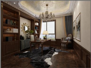金华欧式经典四居室装修,除了奢华还有精致内在