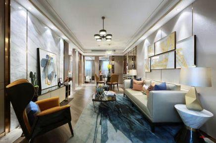 太原轻奢创意混搭风三居装修,装扮出一个时尚精致的空间