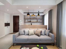杭州創一居國都公寓現代風格復式裝修效果圖