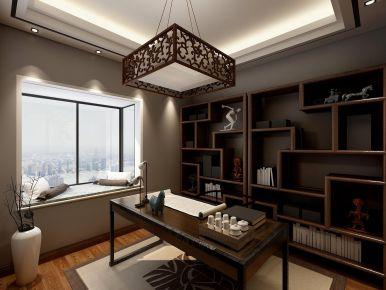 南京中交錦蘭薈古典新中式三居裝修,大美中國風