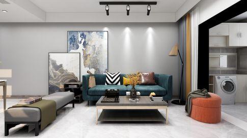 南京红姆装饰90平现代风格二居室装修,简约精致有格调!
