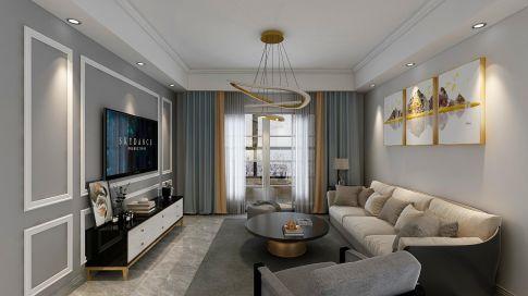 南京红姆装饰90平现代简约风格二居装修,时尚生活精彩纷呈