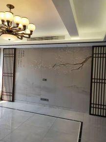 玉蘭雅府中式三居室設計