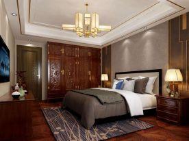 林翠西里中式风格三居室设计