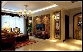 云海居现代风格三居室设计