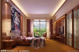 蘭園歐式風格三居室設計