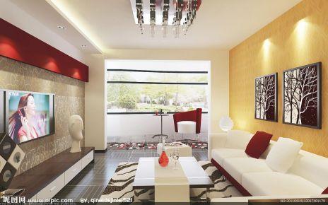 绿城中式风格三居室设计