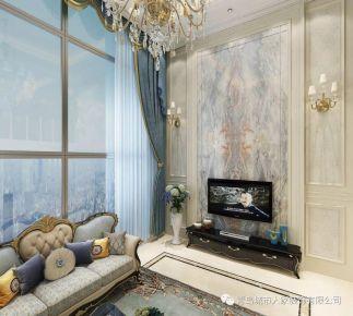 青岛千禧国际欧式风格别墅装修案例图