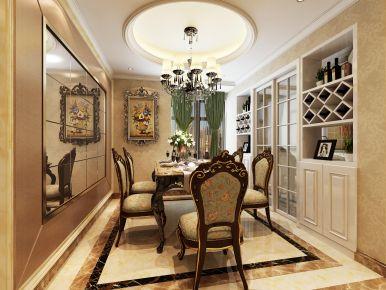 福州120平奢華歐式裝修,滿滿的品質感