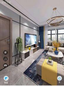 六安簡約現代風格三居室裝修效果圖展示