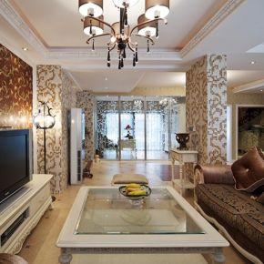 福州160平歐式風格復式裝修,道不盡的奢華與美