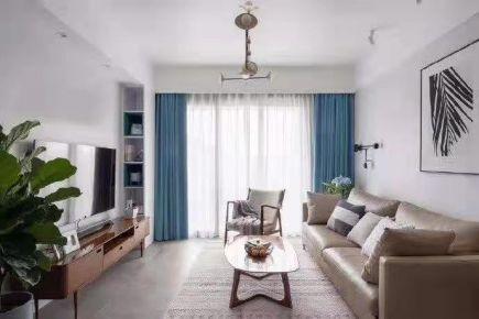 淮安現代簡約三室一廳裝修效果圖