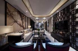 成都現代時尚大氣簡約風格三居室裝修效果圖