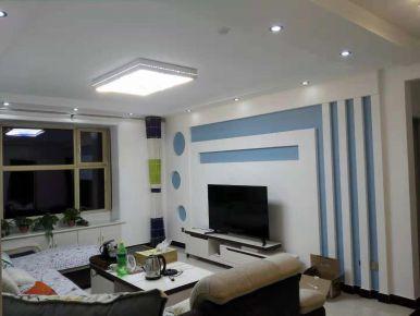 保定盛景華庭現代簡約風格三居室裝修效果圖