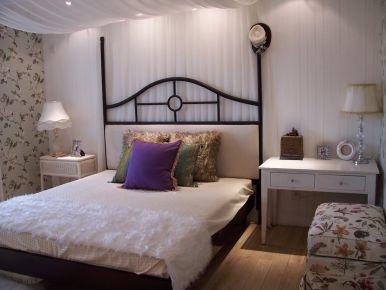 福州110平簡約現代風格三居室裝修效果圖展示