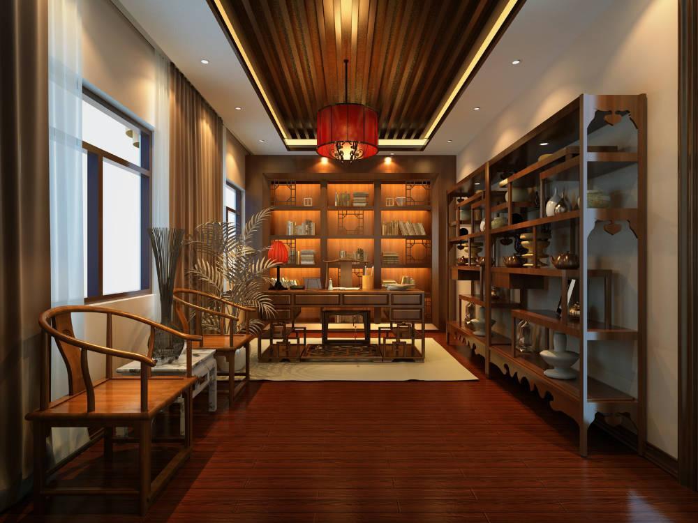 深圳古典中式别墅装修案例,体验传统文化之美