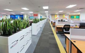 极简风格办公室装修设计