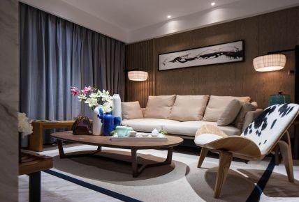 福州95平現代中式家裝,把中式的優雅演繹的惟妙惟肖