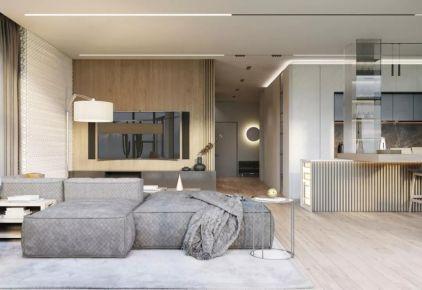北歐現代風格三室設計