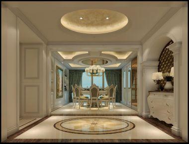 厦门新中式风格别墅装修,演绎最美中国风