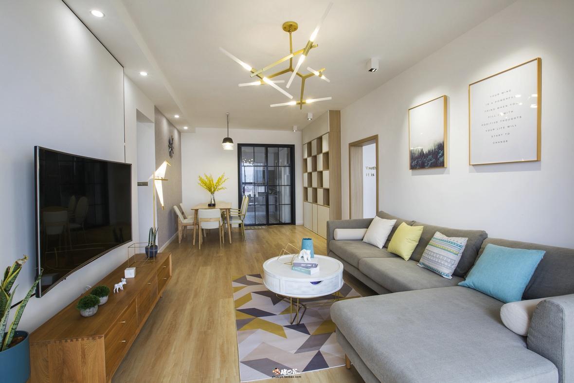 杭州创一居惠宜村舒适现代风格装修效果图