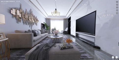廈門現代極簡三居室裝修,素雅有格調