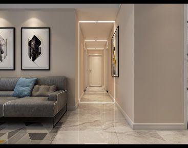 合肥北欧简约风装修,灰色系也能打造温暖的家