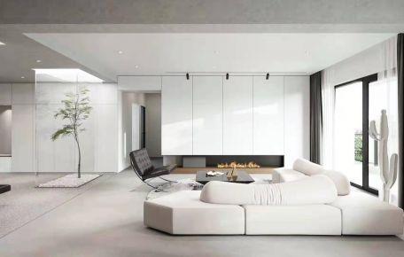 北京后现代风格三居室装修效果图