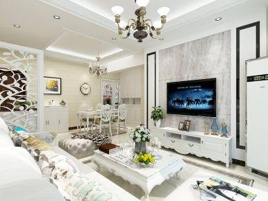 金华现代简约温馨三居室装修设计效果图