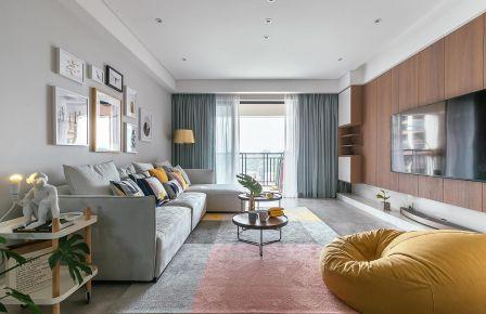 石家莊時尚現代簡約三居室裝修效果圖