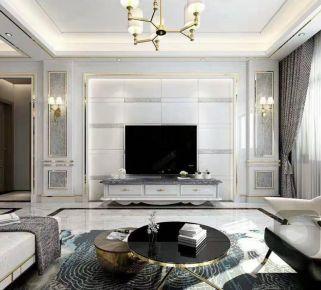 泉州時尚大氣現代三居室裝修效果圖