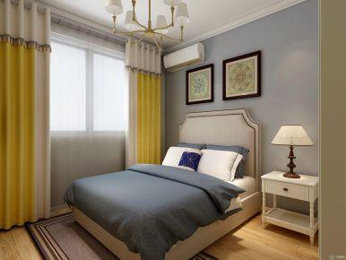 石家庄温馨美式风格三居室装修效果图