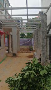 广州康怡雅苑别墅一比一花园装修施工图