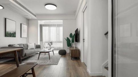 重慶【維享家裝飾】130平四居室北歐極簡風格裝修