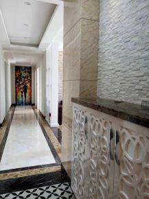 无锡现代舒适三居室公寓装修效果图展示