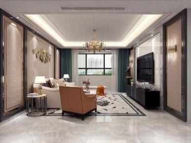 廊坊126㎡混搭风设计装修,比豪宅更赞更惊艳!